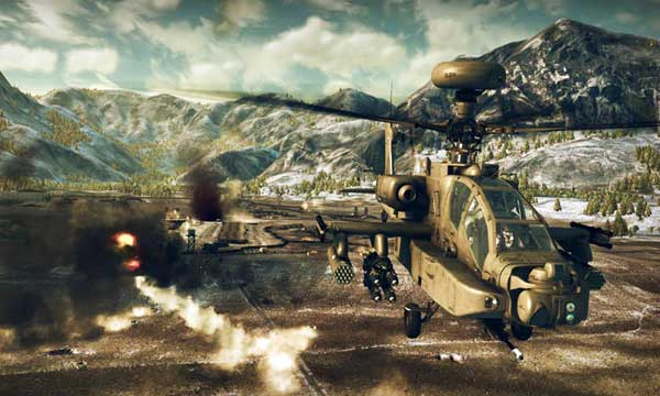 Скриншоты Apache: Air Assault