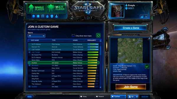 Скриншоты StarCraft 2: Wings of Liberty