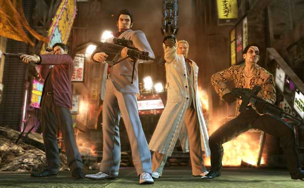 Скриншоты Yakuza: Of the End