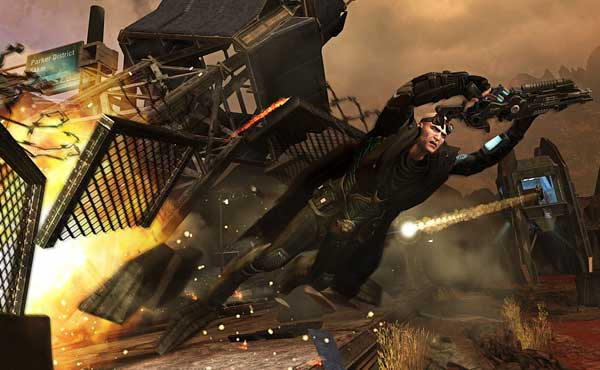 Скриншоты Red Faction: Armageddon