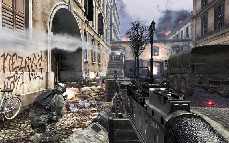 Скриншоты Call of Duty: Modern Warfare 3