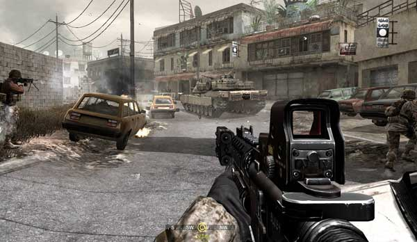 Скриншоты Call of Duty 4: Modern Warfare