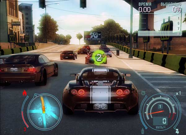 Скриншоты Need for Speed: Undercover