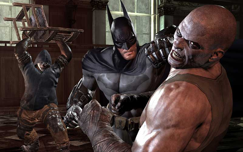 Скриншот Batman: Arkham City